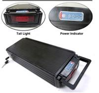 SPEDIZIONE GRATUITA Batteria al litio ad alta capacità Batteria 48V 20Ah Batteria al litio 1000W / Batteria a cremagliera posteriore con fanale posteriore + Caricabatterie