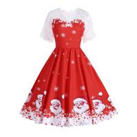 Traje de navidad para mujer Vestido de novia elegante para el niño de verano Vestidos de fiesta para adultos Vestido