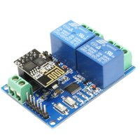 LC 5V 2-Kanal WIFI Röle Modülü ESP-01 WIFI modülüne ile donatmak ve 8 yüksek performanslı MCU ısırdı, Sadece basit yapılandırmaları gerek