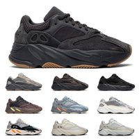 2019 Hot yeezy boost 700 v2 Wave Runner kanye west 3m reflective men women running shoes Utility Black Tephra Inertia static mens trainers fashion sports sneakers