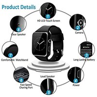 Bluetooth Smart Watch Phone with Camera and SIM andTF Card S...