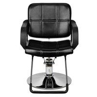 Женщина парикмахерское кресло парикмахерское кресло черный