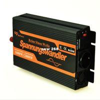 Freeshipping Pure power sine wave inverter 12 V 220 V 1000 W Pico 2000 W DC 12 V para AC 220 V 230 V 240 V