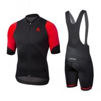 Spagna Etxeondo Pro Cycling Team Jersey Set respirabile della bicicletta Suit giro in bicicletta Abbigliamento Pantaloncini maniche con MITI NON-SLIP