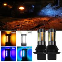 1156 BA15S P21W / BAU15S PY21W / T20 7440 / T25 3156 LED Ampul Hayır Hiper Flaş / Hayır Hata Amber Çift Modu DRL Dönüş Sinyali LED Harici Işıklar