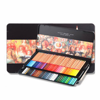 24/36/48/72/100 Professional Oily Color Pencils Marco Renoir Fine Colored Drawing Sketch Pencil Set Art Supplies For School 3100