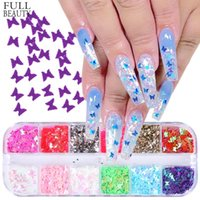 Cross- Border Exclusive Online Celebrity Nail Ornament 12- Col...