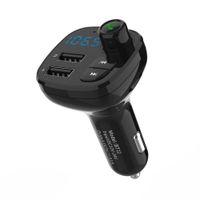 차량용 블루투스 핸즈프리 MP3 플레이어 폰 - 라디오 FM 송신기 BT12