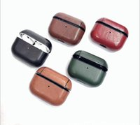 DHL NEW Airpods pro leather case Top Quality Leather Case Bu...