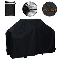 4 Size BBQ Cover 210D Oxford Grill Accessories Black Grill C...