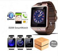 DZ09 Moda Spor Akıllı İzle GT08 U8 A1 Wrisbran Destek SIM Kart İçin Android Telefon Smartwatch Man Kamera Kadınlar Bluetooth giyilebilir cihaz