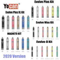 Otantik Yocan Evolve Plus XL Evolve D Manyeto Balmumu Buharlaştırıcı Kiti Bitkisel Konsantre Vape Kalem E Sigara Starter Kit 2020 Sürüm Orijinal