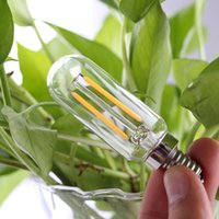 T25 Edison LED Filament Light Bulb Dimmable Candlestick tube...