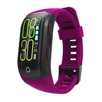 S908 plus Color Screen Activity Fitness Tracker smart band I...
