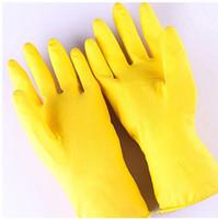 Очистка перчатка посудомоечных перчатки Резина Рукавица из латекса по дому варежка Длинной Кухня мытью посуды митенка
