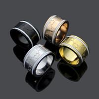 Os amantes anéis 18k rosa ouro e prata 316L aço inoxidável para mulheres e homem banda rhombus anéis jóias