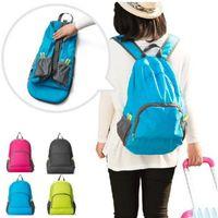 Унисекс Складных путешествий рюкзака сумка большой емкость Versatile Полезность Альпинизм Рюкзак сумка багаж Открытого хранение сумка ZZA1837