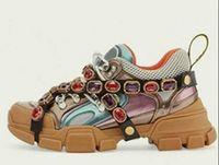 Flashtrek Originals Scarpe casual con cristalli rimovibili Designer Designer Sneakers Arrampicata da montagna Scarpe da camminata da uomo Stivali da trekking da uomo