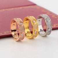 piena cz gli uomini e le donne anello amore oro argento oro rosa anello per anello amanti coppia per matrimonio