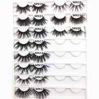 25mm Mink EyeLashes Free Private Label 3D Mink Lashes 25mm E...