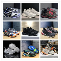 19SS Track Trainers 3.0 Colourful Lights tess Paris Mens Designer Shoes for Triple S Luxe Sneakers Shoes