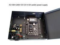전원 케이스 100-240V 전원 공급 TCP / ip 보안 카드가있는 2 개의 도어 액세스 컨트롤러 양방향 RFID 리더기 sn : c3-200