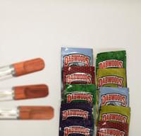 Dabwoods Kartuşları Boş Vape Kalem 1 ml 0.8 ml Seramik Bobin Ambalaj Çanta Ahşap İpuçları Cam Tankı 4 * 2.0 ml Kalın Yağ Atomizer Buharlaştırıcı Kalem