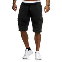 Men Lace- up With Pocket Casual Summer Training Lightweight S...