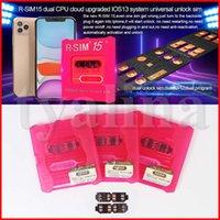 RSIM15 rsim15 R sim 15 rsim15 desbloqueio do cartão IOS 13 de desbloqueio do cartão SIM dupla CPU Aegis nuvem atualizar cartão de desbloqueio universal