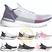 2019 New Ultra Boost Ultraboost 19 Chaussures de course Hommes Femmes Panda Cloud White Active Batte Orchid Trainer Respirant Sport Baskets 36-45