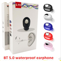 Mobile waterproof headset bluetooth 5. 0 mini sports business...
