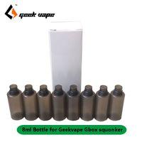 원래 8PCS / 많은 Geekvape Gbox 8 ML Gbox 200w 모드 레이더 RDA 키트 squonk 교체 식품 학년을위한 전자 액체 예비 병 PET 소프트 병