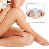 (in stock)Health Care Feet Care Easy Massage Slimming Silicone Foot Massage Magnetic Toe Ring Free Shipping