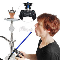 HORNET Narghilè Smoke Play Hose Shisha Holder Manico in alluminio Supporto per pipe per Xbox Controller Chicha Narguile Smoking Accessories