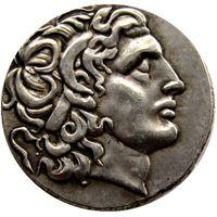 G (01) rara moneda antigua Alejandro III el Grande 336-323 aC. Plata Drachm Moneda griega antigua copia monedas al por mayor
