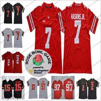 a2a7ae6a9 Ohio State Buckeyes  2 JK Dobbins 7 Dwayne Haskins Jr. 97 Nick Bosa 16 J.T.  Barrett IV 21 Parris Campbell Jr.  15 NCAA Football Jersey S-3XL