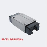 4 قطعة / الوحدة الأصلي تايوان abba BRC25LR / BRH25BL دليل خطي كتلة خطية السكك الحديدية الضيقة تحمل ل cnc راوتر أجزاء آلة الليزر