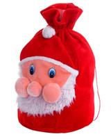 Sac à dos Père Noël Flocage faisceau rouge Poches
