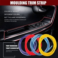 Red Line 5M Gap interior del coche que moldea Edge tira de ajuste universal de accesorios