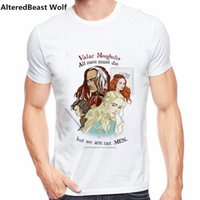 Not Today Arya Stark T- shirt Men Clothing valar morghulis Me...