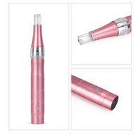 Pele Derma elétrica Pen sem fio de dispositivos Cuidado da máquina do tatuagem Microblading Derma Agulhas Tattoo Gun DR Pen Mesoterapia de Rosto Maquiagem