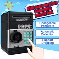 Nieuwe Elektronische Piggy Bank ATM-Wachtwoord Money Box Cash Munten Saving Box ATM Bank Safe Box Automatische Storting Bankbiljet Kind Gift