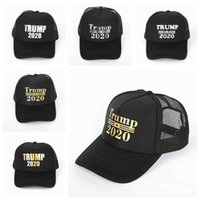 Donald Trump 2020 Chapéus Baseball Presidente Cap Outdoor Trump Eleição Cap republicano malha Sports Cap ZZA2123