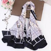 Design de luxo lenços de seda real para mulheres de alta qualidade menina cachecol quadrado e xales envoltórios hijab pashmina pescoço de pescoço aquecedor
