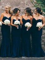 Элегантные шифон возлюбленные шеи платья невесты платья горничные платья в честь платья Vestido Madrinha Pliats русалка вечерние платья одевает графства де fête