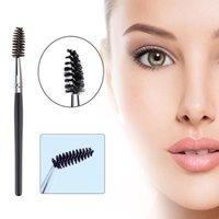 Escova de cílios portátil sobrancelha Comb escovas flexíveis cabeça da escova de cílios escova Professional Beauty Makeup Tools Brushes Beauty Essentials