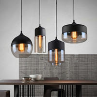 Modern design decorative Nordic E27 glass pendant light