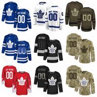 Toronto Maple Leafs Buz Hokeyi Kasperi Kapanen Jersey Nazem Kadri Jake Gardiner Ron Hainsey Mitchell Marner Zach Hyman Elmas Payet Özel