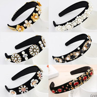 European And American Vintage Court Style Headband Baroque R...