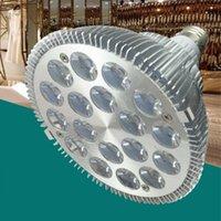 LED PAR 30 38 E27穂軸スポットライト18W 9W AC85-265V 110LMアルミ製PAR38 PAR30電球ランプ屋内照明深セン中国から直接
